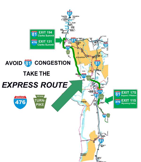 Avoid I-81 Congestion » Focus 81